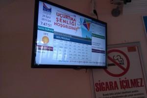 dijital pano tv kullanıma ait örnek